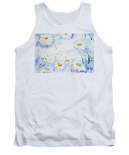 Daisies - Flower Tank Top