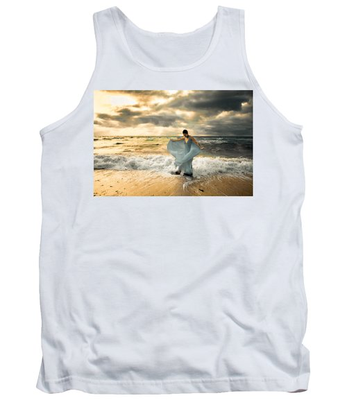 Dancing In The Surf Tank Top