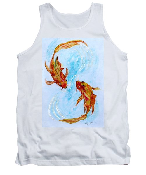 Dancing Koi Sold Tank Top