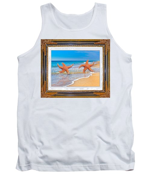 Dancing To The Beat Of The Sea Tank Top