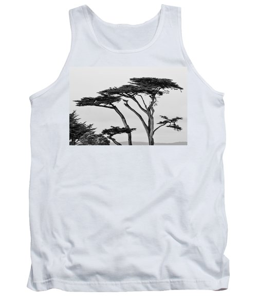 Dark Cypress Tank Top by Melinda Ledsome
