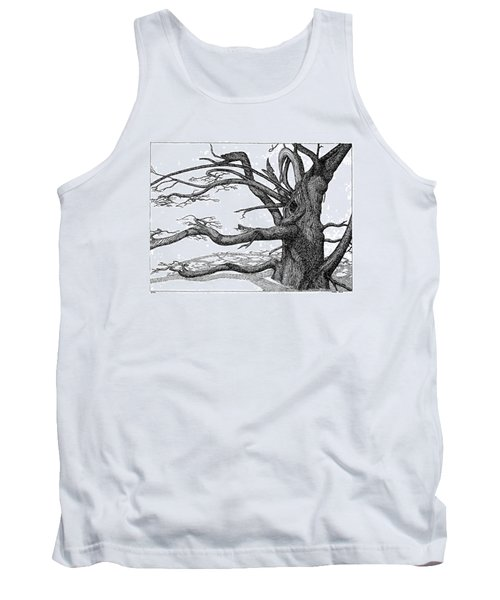 Dead Tree Tank Top by Daniel Reed