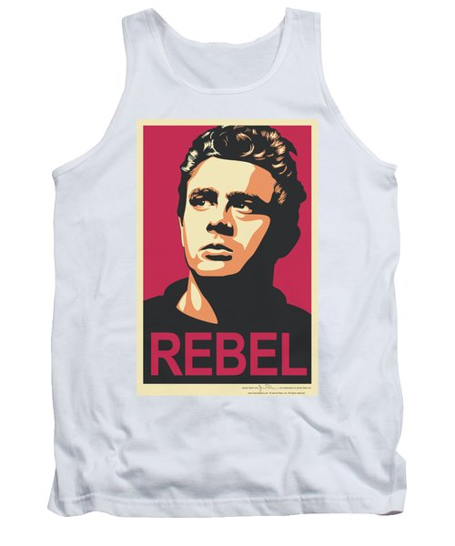 Dean - Rebel Campaign Tank Top by Brand A