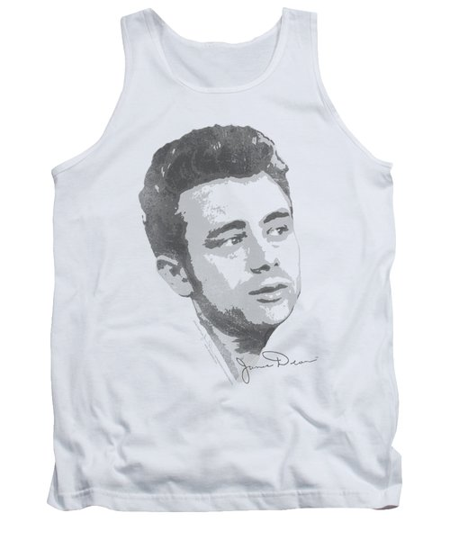 Dean - Vintage Face Tank Top by Brand A