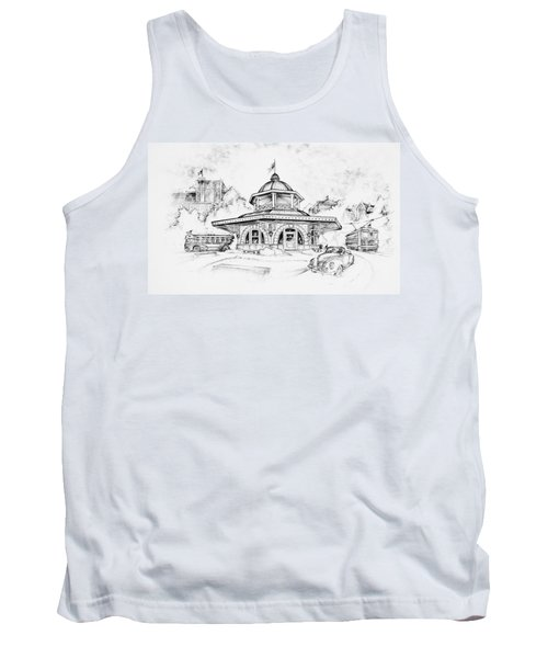Decatur Transfer House Tank Top by Scott and Dixie Wiley