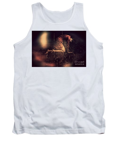 Defeated Tank Top by Jessica Shelton