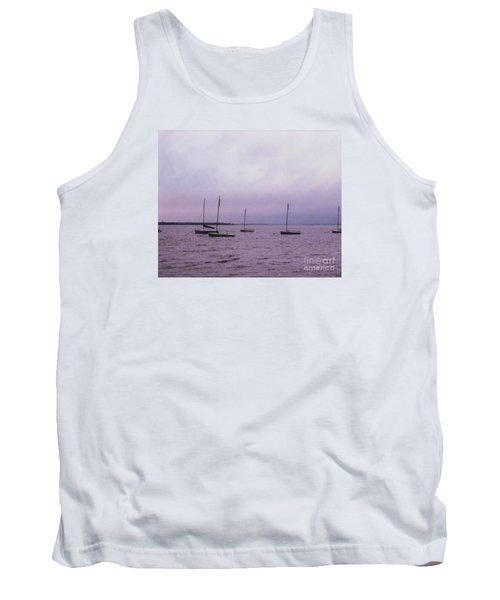 Tank Top featuring the photograph Delaware Harbor by David Jackson