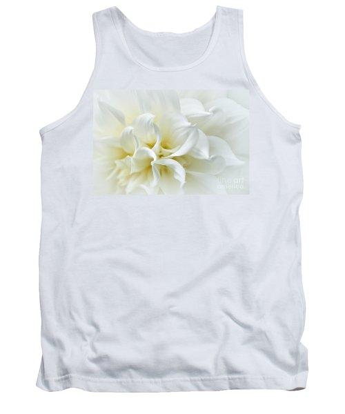 Delicate White Softness Tank Top