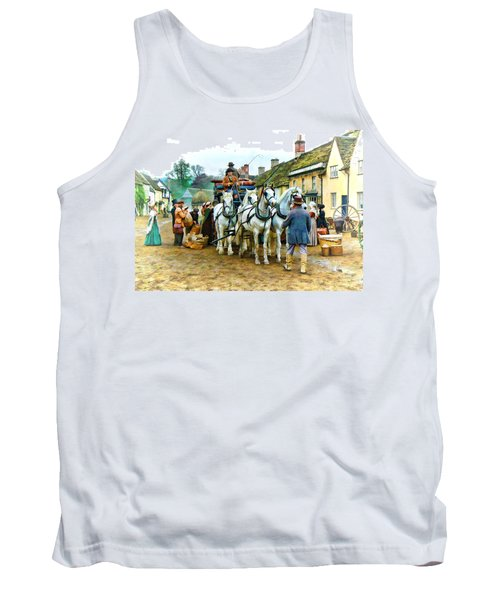 Tank Top featuring the photograph Departing Cranford by Paul Gulliver