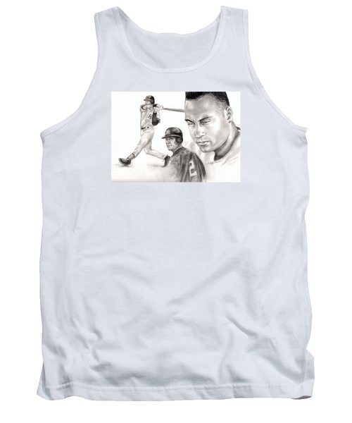 Derek Jeter Tank Top by Kathleen Kelly Thompson