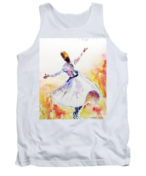 Whirling Sufi Dervish Tank Top