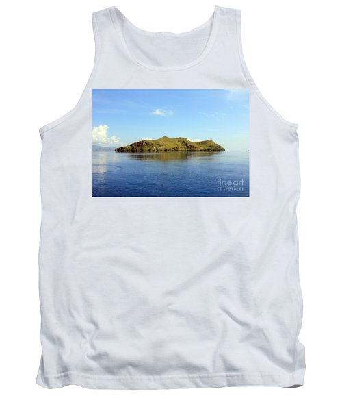 Tank Top featuring the photograph Desert Island by Sergey Lukashin