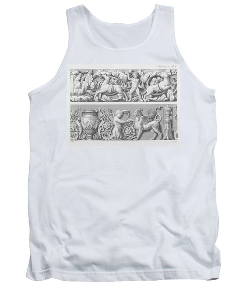 Designs For Classical Friezes Tank Top