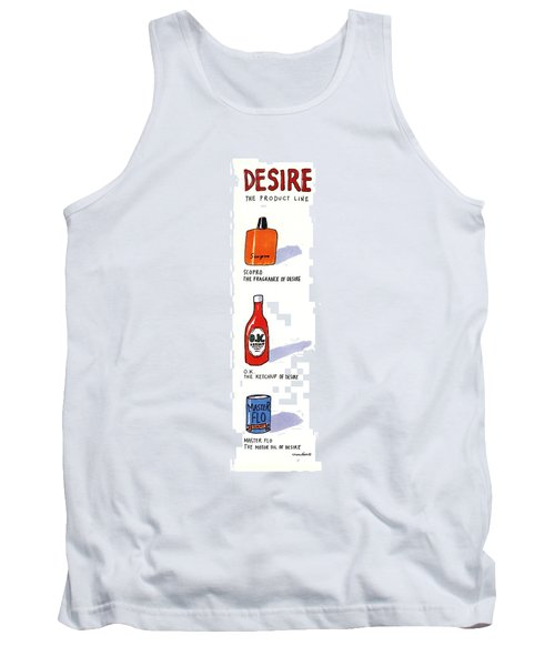 Desire: The Product Line Tank Top