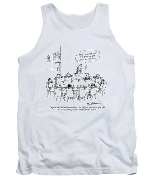 Despite Some Initial Reservations Tank Top by J.B. Handelsman