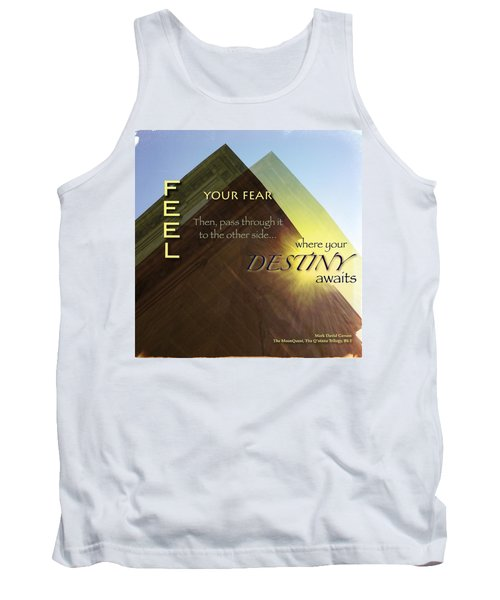 Your Destiny Waits Tank Top by Mark David Gerson