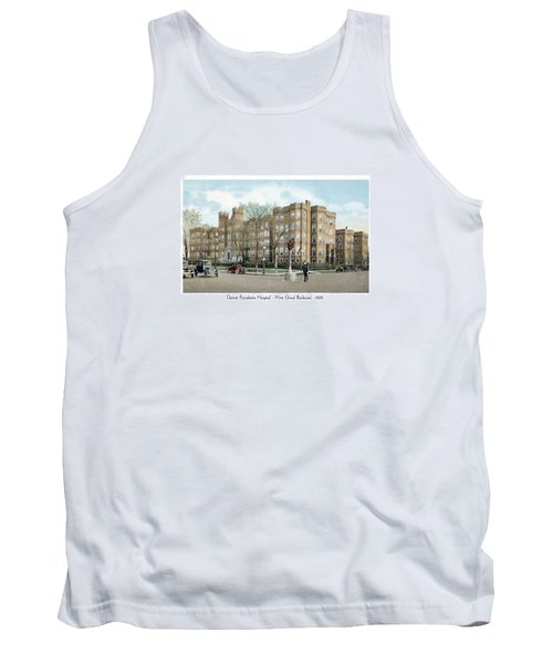 Detroit - Providence Hospital - West Grand Boulevard - 1926 Tank Top