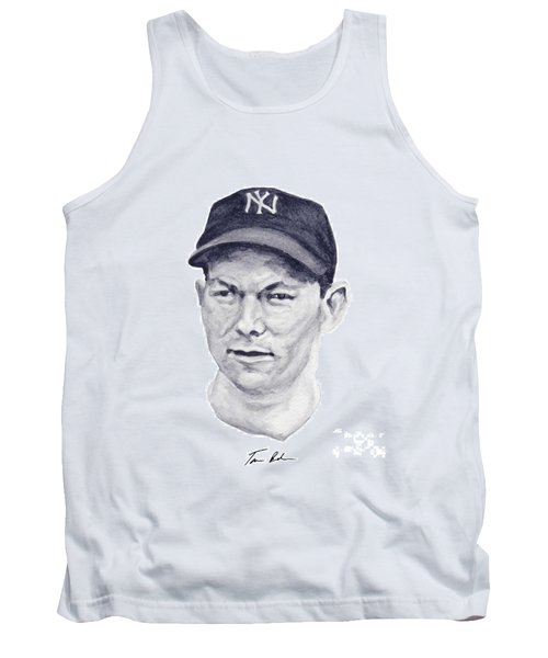 Tank Top featuring the painting Dickey by Tamir Barkan