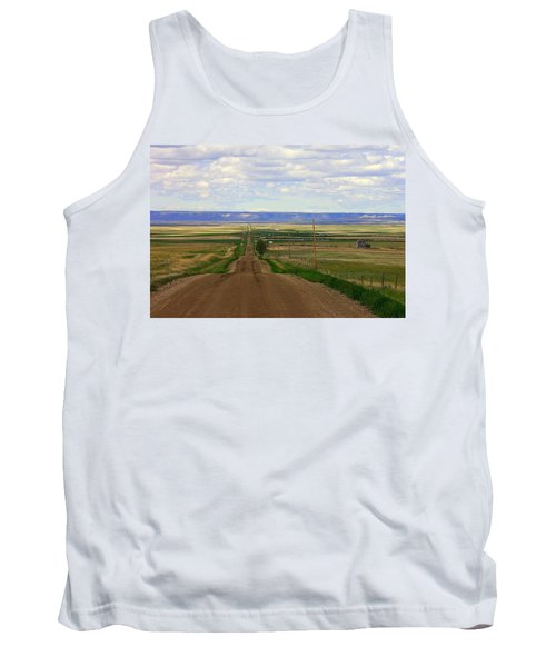 Dirt Road To Forever Tank Top