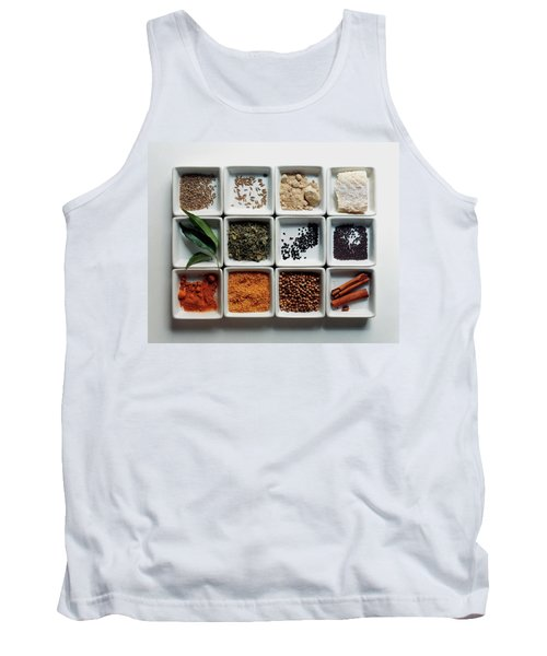 Dishes Of Spices Tank Top