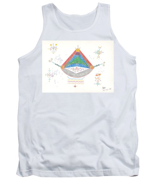 Divine Balance Tank Top by Mark David Gerson