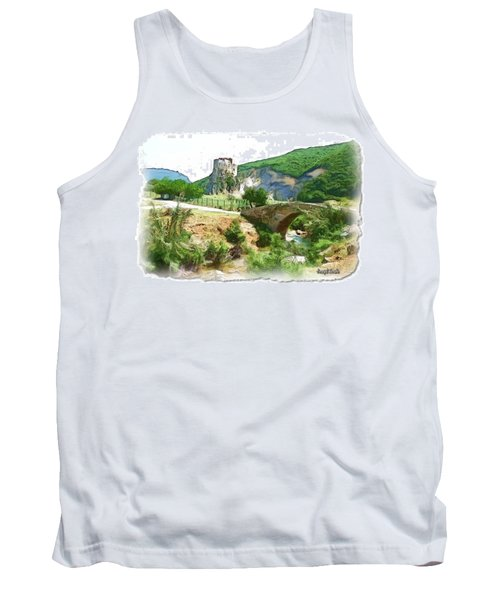 Do-00403 Mussaylaha Fort  Tank Top by Digital Oil