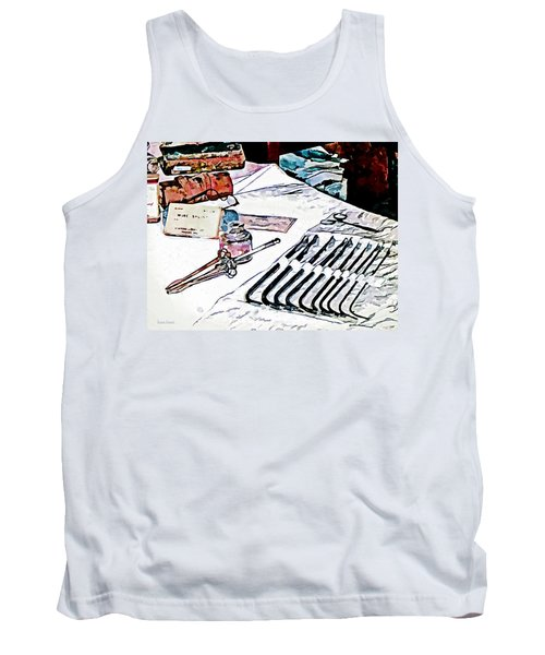 Doctor - Medical Instruments Tank Top by Susan Savad