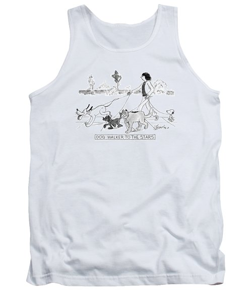 Dog Walker To The Stars Tank Top