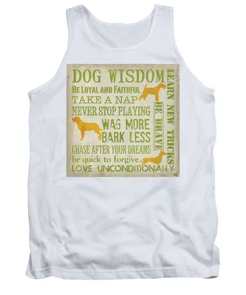 Dog Wisdom Tank Top