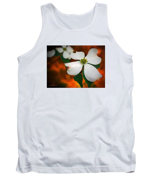 Dogwood Blossom Tank Top by Brian Wallace