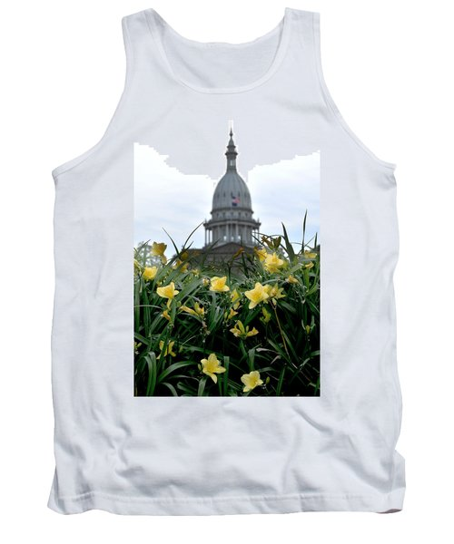 Dome Through The Daffodils Tank Top