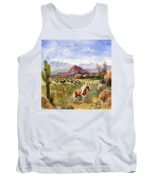 Don't Fence Me In Part One Tank Top