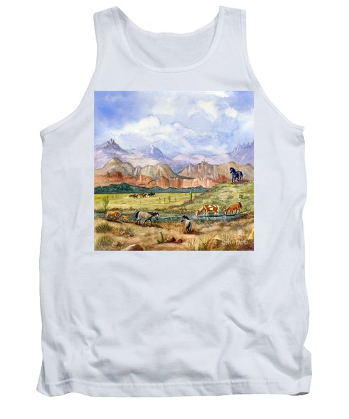 Don't Fence Me In Part Three Tank Top