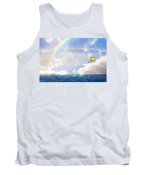 Dont Worry Be Happy Tank Top