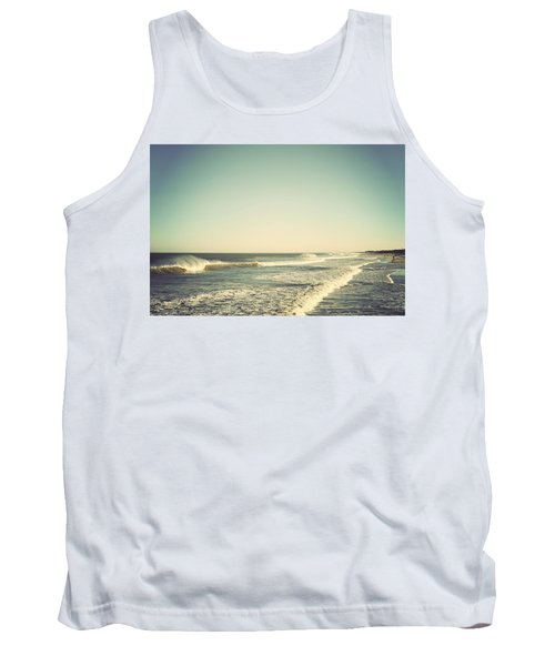 Down The Shore - Seaside Heights Jersey Shore Vintage Tank Top by Terry DeLuco
