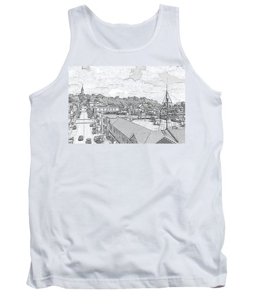 Downtown Port Washington Tank Top