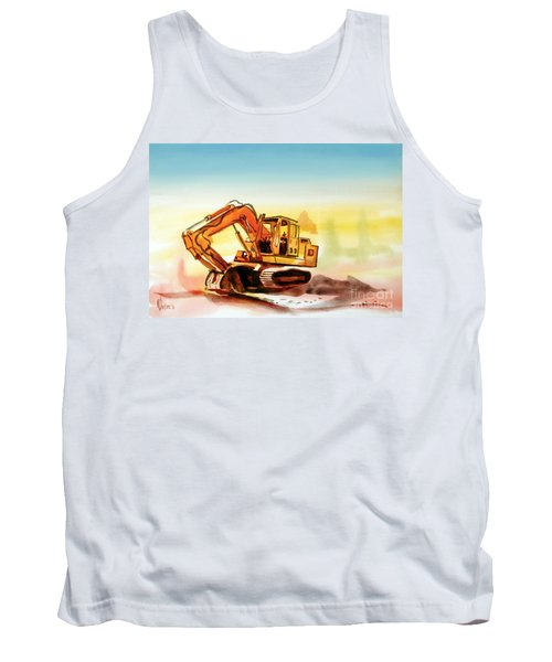 Dozer October Tank Top