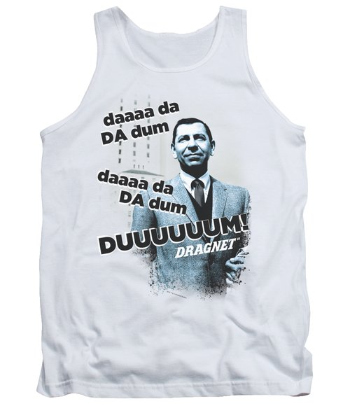 Dragnet - Theme Tank Top