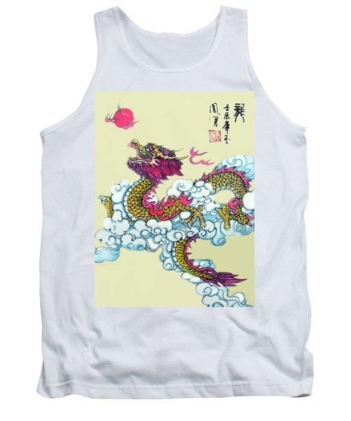 Dragon Tank Top by Yufeng Wang