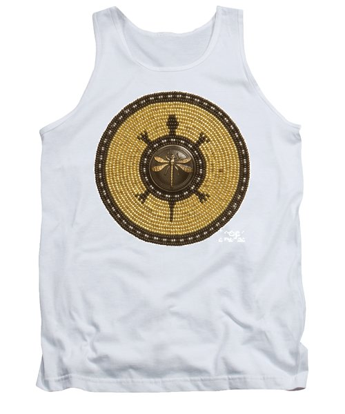 Dragonfly Turtle Tank Top