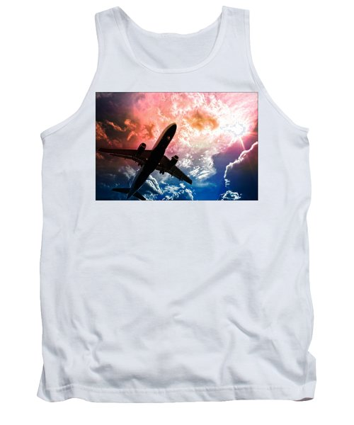 Flight Tank Top featuring the photograph Dream Flight by Aaron Berg