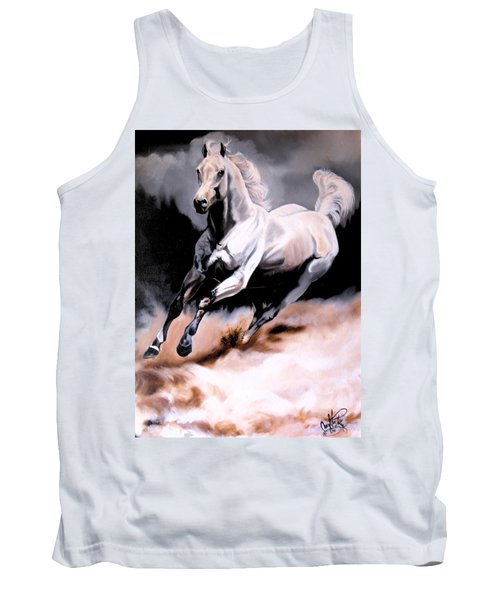 Dream Horse Series 20 - White Lighting Tank Top