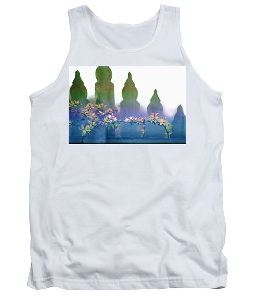 Dreams Of A Picket Fence Tank Top by Holly Kempe