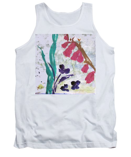 Dreamy Day Flowers Tank Top