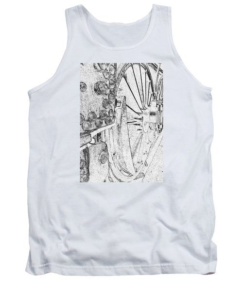 Drive Wheels Dm  Tank Top