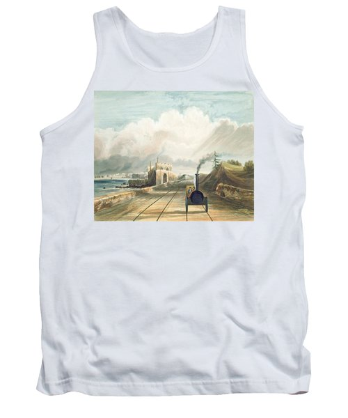 Dublin And Kingstown Railway From Tank Top
