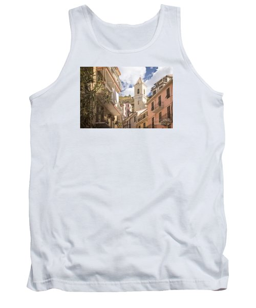 Duomo Bell Tower Of Manarola Tank Top