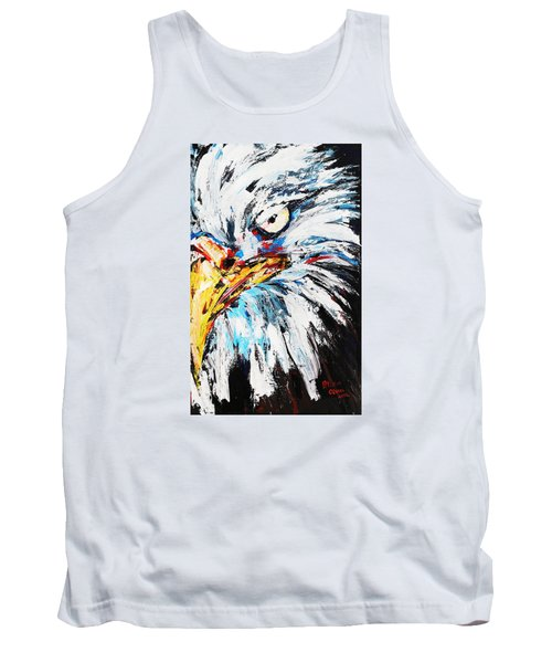 Eagle Tank Top by Patricia Olson