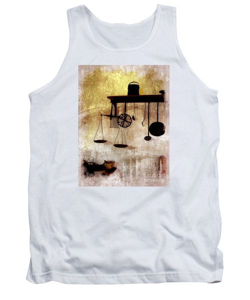Early Kitchen Tools Tank Top