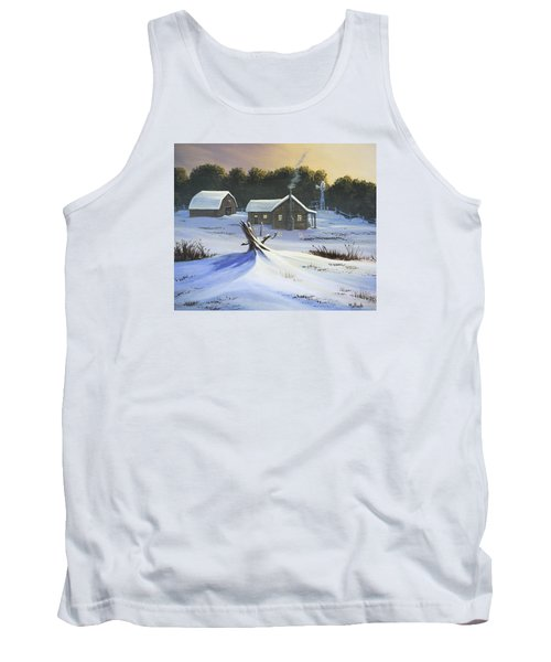 Early Snow Tank Top by Jack Malloch